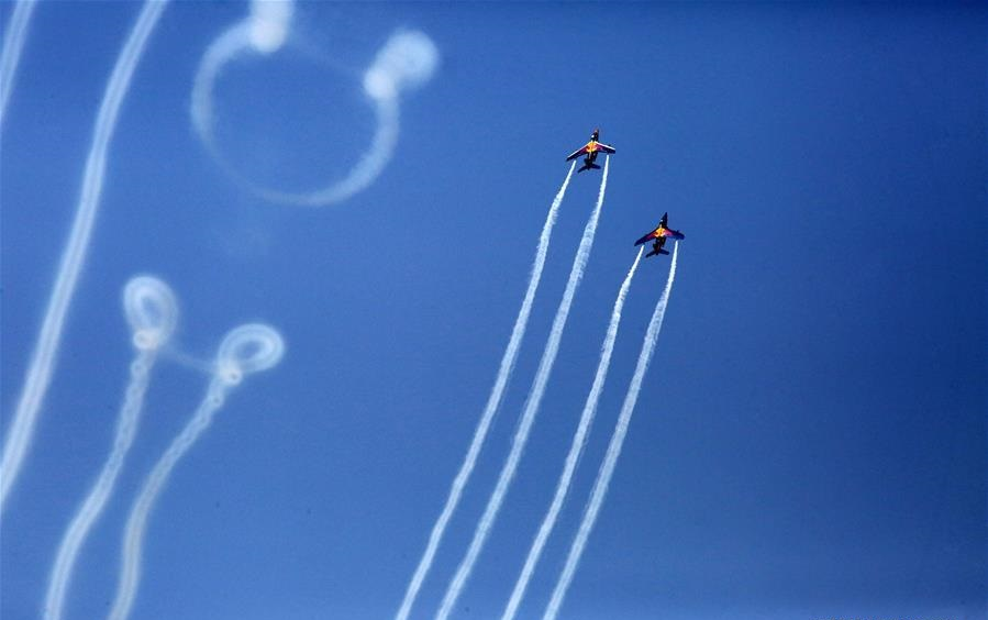 Bucharest Int'l Air Show held in Romania