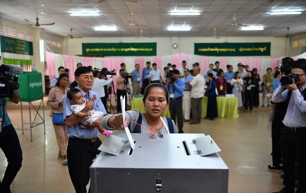 Cambodia's 6th general election kicks off