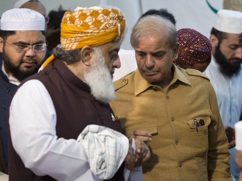 Pakistani official: Jailed former PM Sharif hospitalized