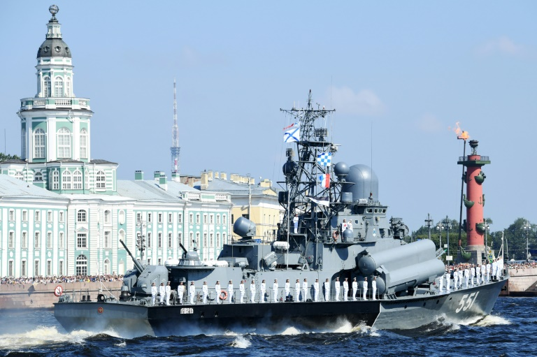 Russian navy in show of strength with 26 new ships this year