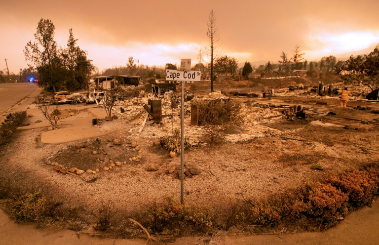 US government approves aid as California battles raging wildfires