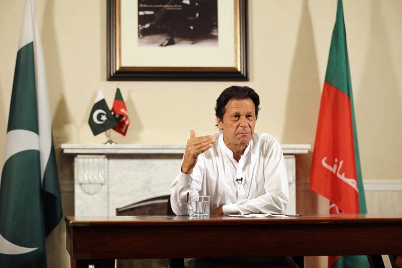 Pak-China relationship is an example for the world: Imran Khan