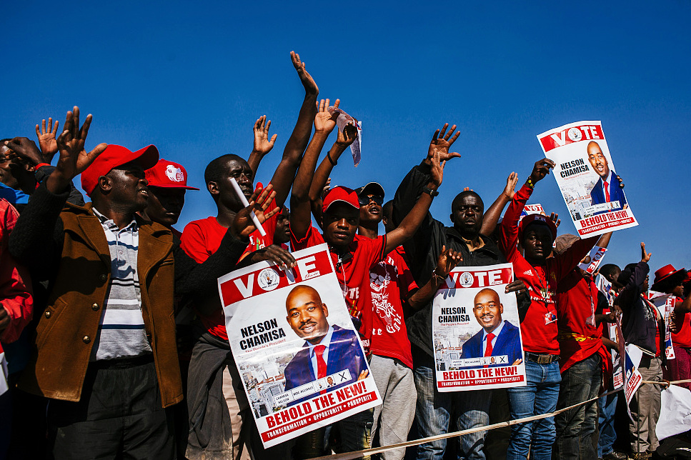 Zimbabwe poll authority says 'no rigging' in election
