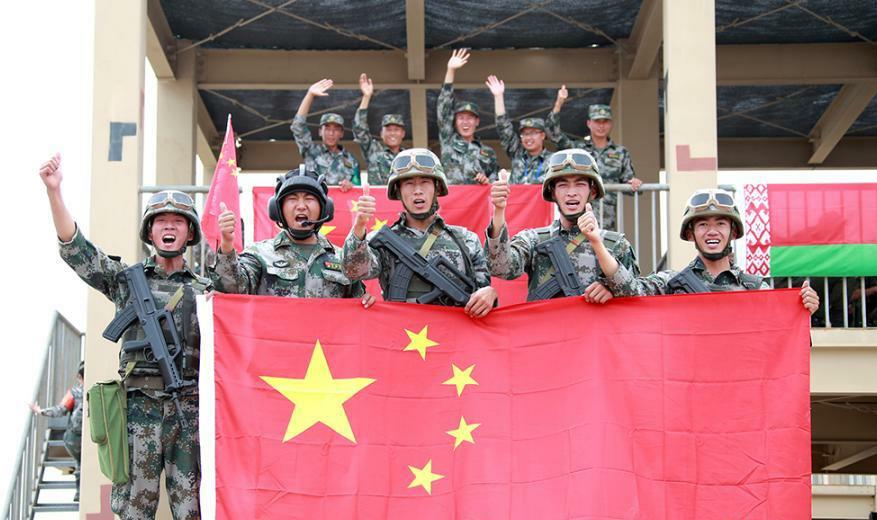 China wins International Army Games 2018 contest
