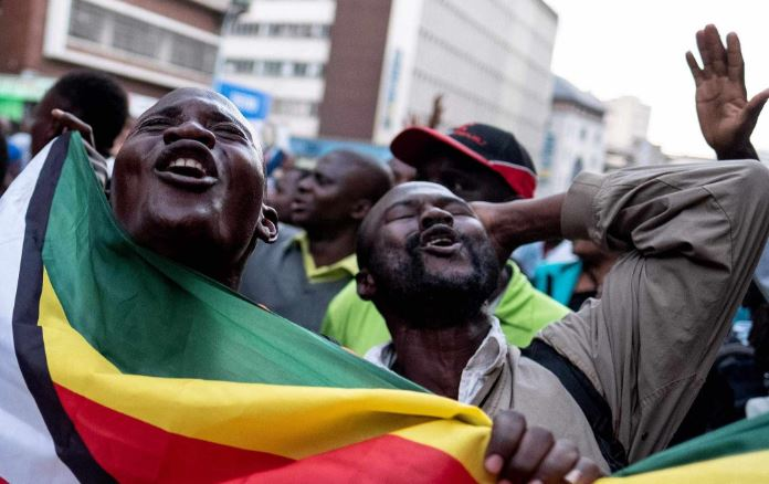 Zimbabwe ruling ZANU-PF party wins parliamentary election amid criticism