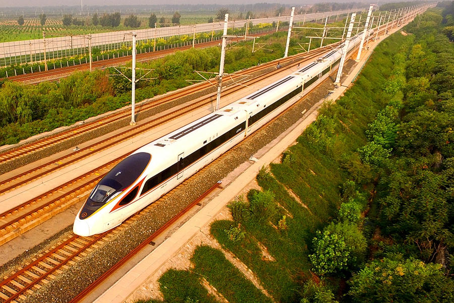 China's first high-speed rail 10 years on