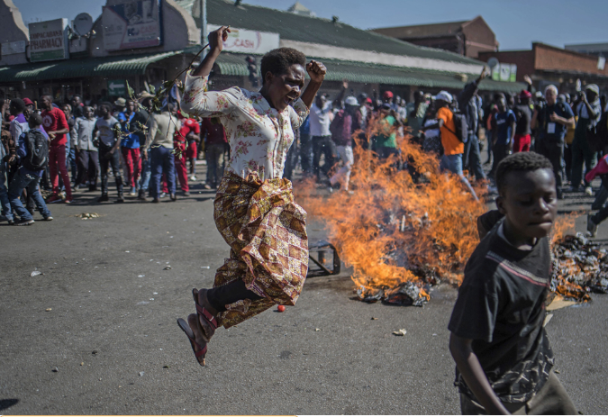 Three die in Zimbabwe post-election violence
