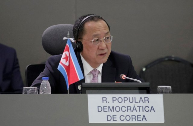 DPRK FM starts official visits to Singapore, Iran