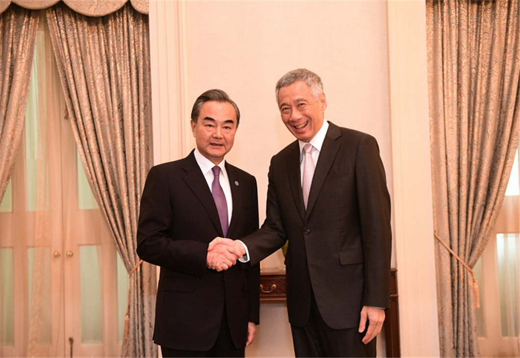 China, Singapore agree to promote multilateralism