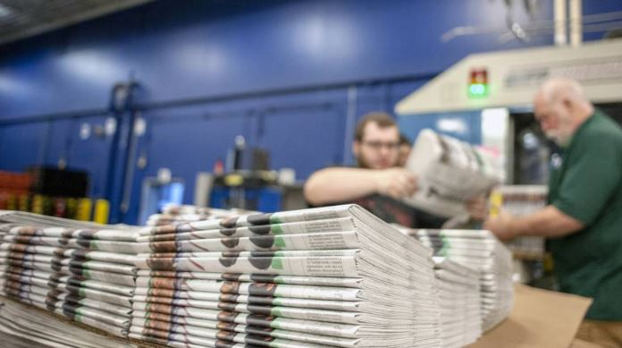US confirms duties for Canadian paper used in newsprint
