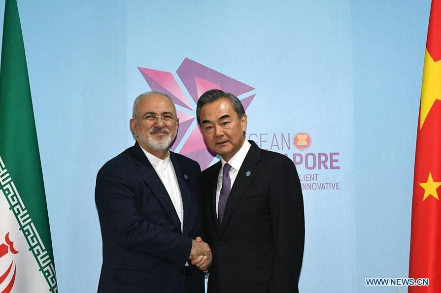 China says willing to work with all parties to continue safeguarding Iran nuclear deal