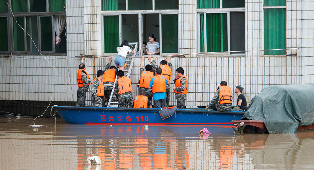20 dead, 8 missing as record heavy rain triggers floods in Xinjiang