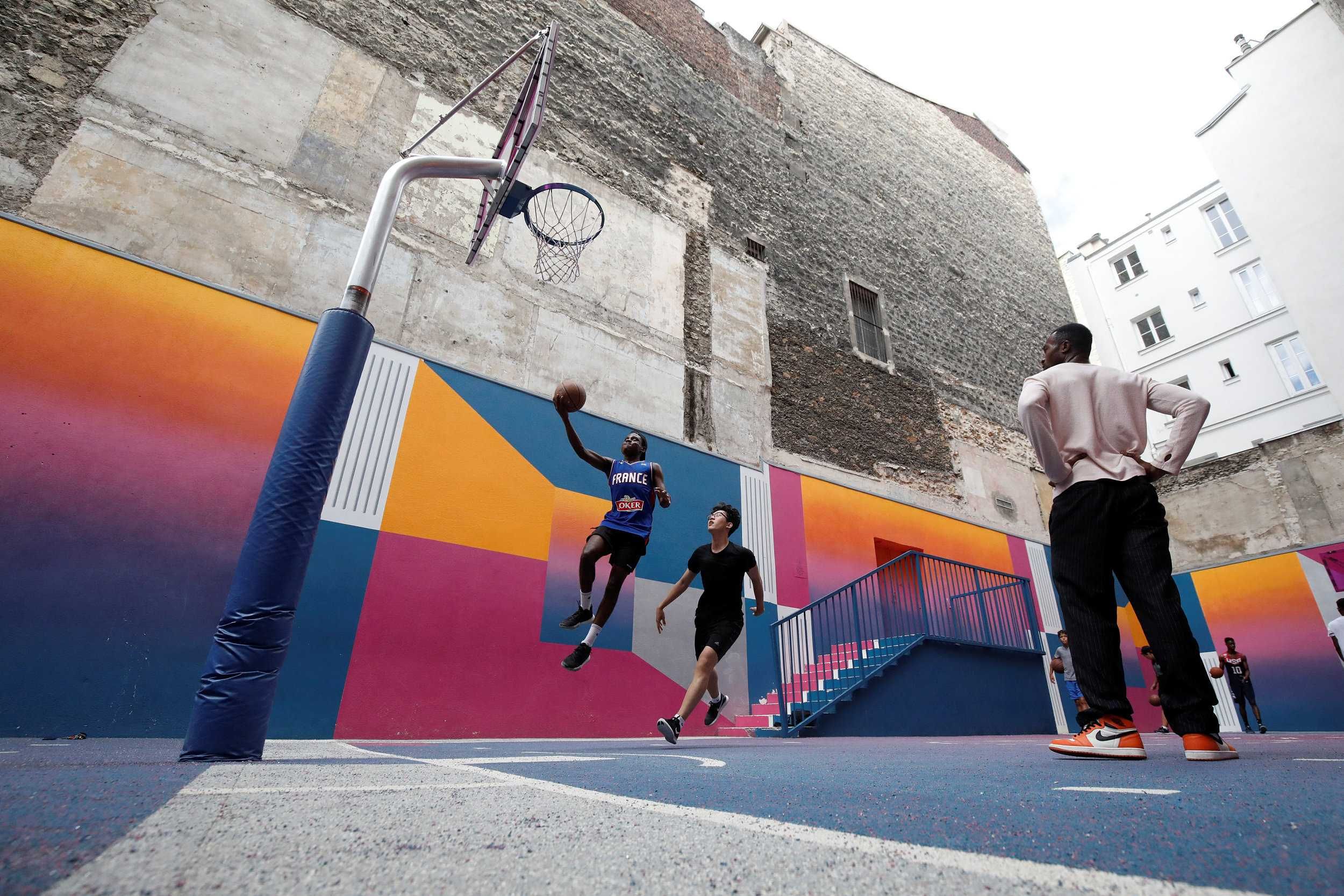 World's oldest still-in-use basketball court irradiating new life