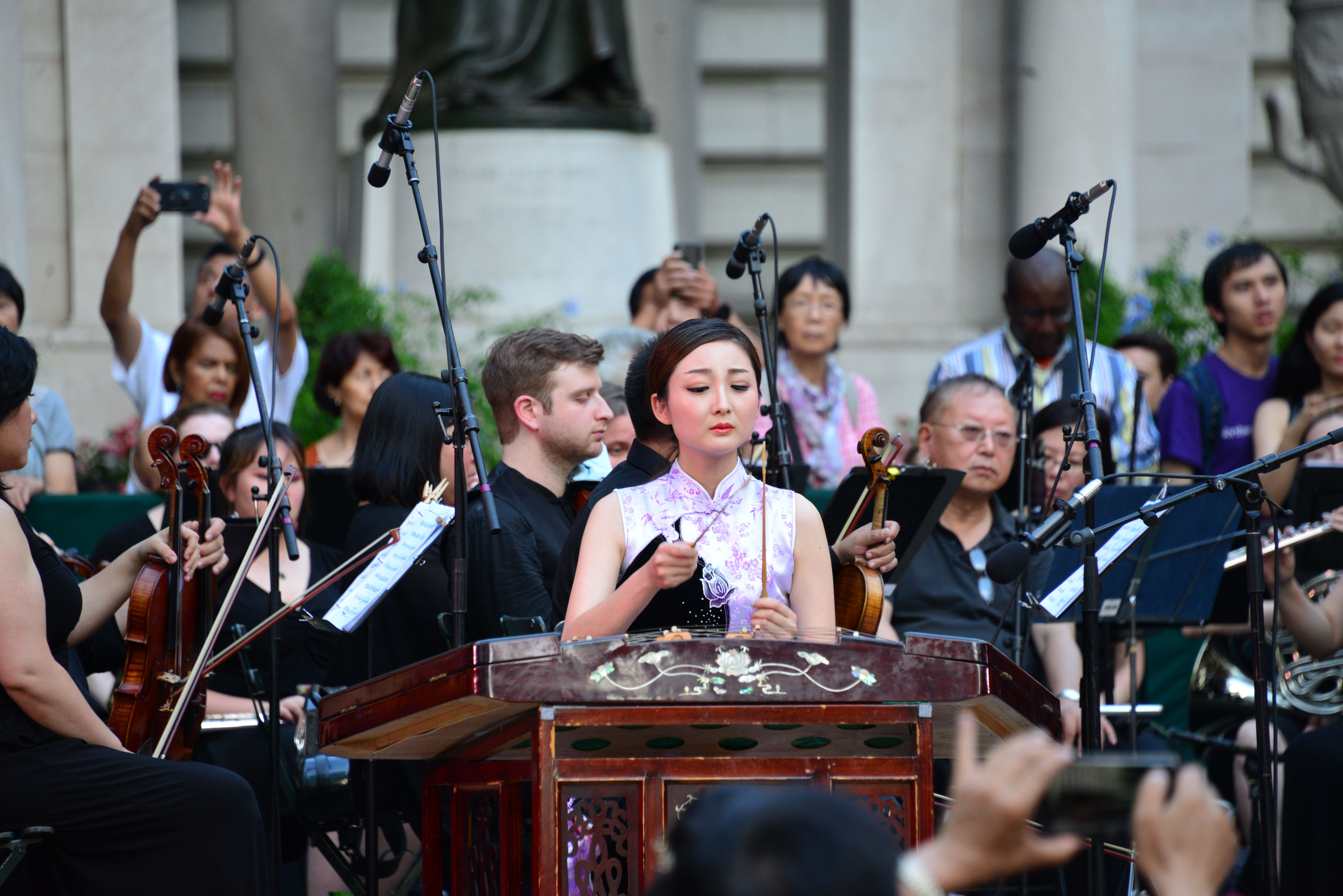 Traditional Chinese music concert held in New York