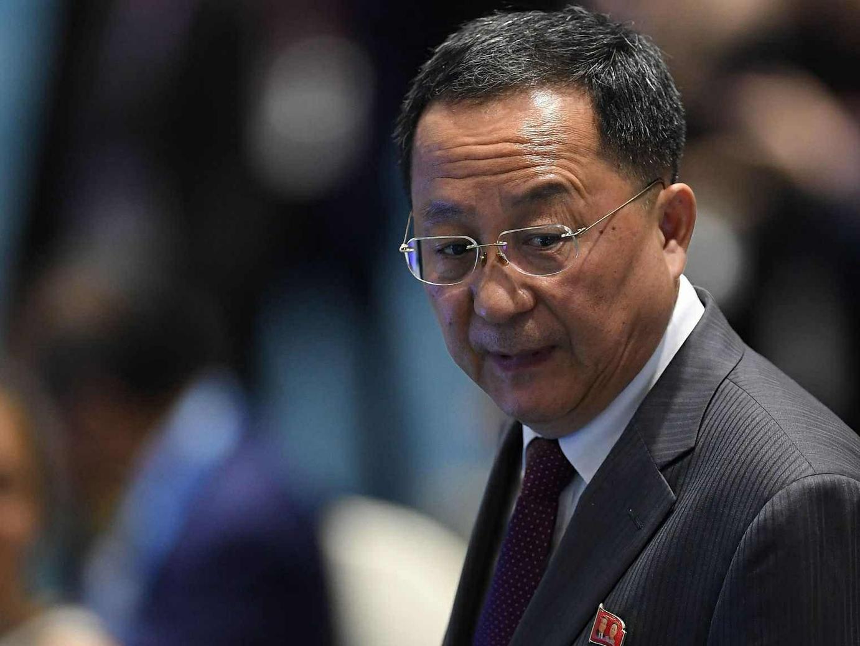 DPRK FM: US is backtracking on Trump-Kim summit agreement