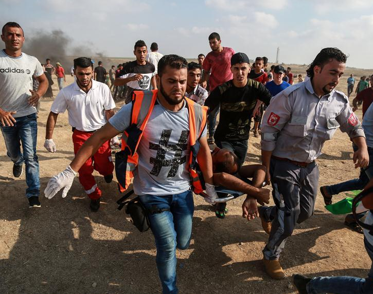 Palestinian killed in clashes with Israeli forces in 19th anti-Israel Friday rally in Gaza