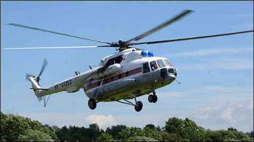 Helicopter crash kills 18 in Russia