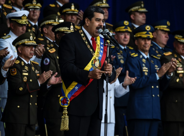 US denies role as Venezuela's Maduro blames 'assassination' attempt on Colombia