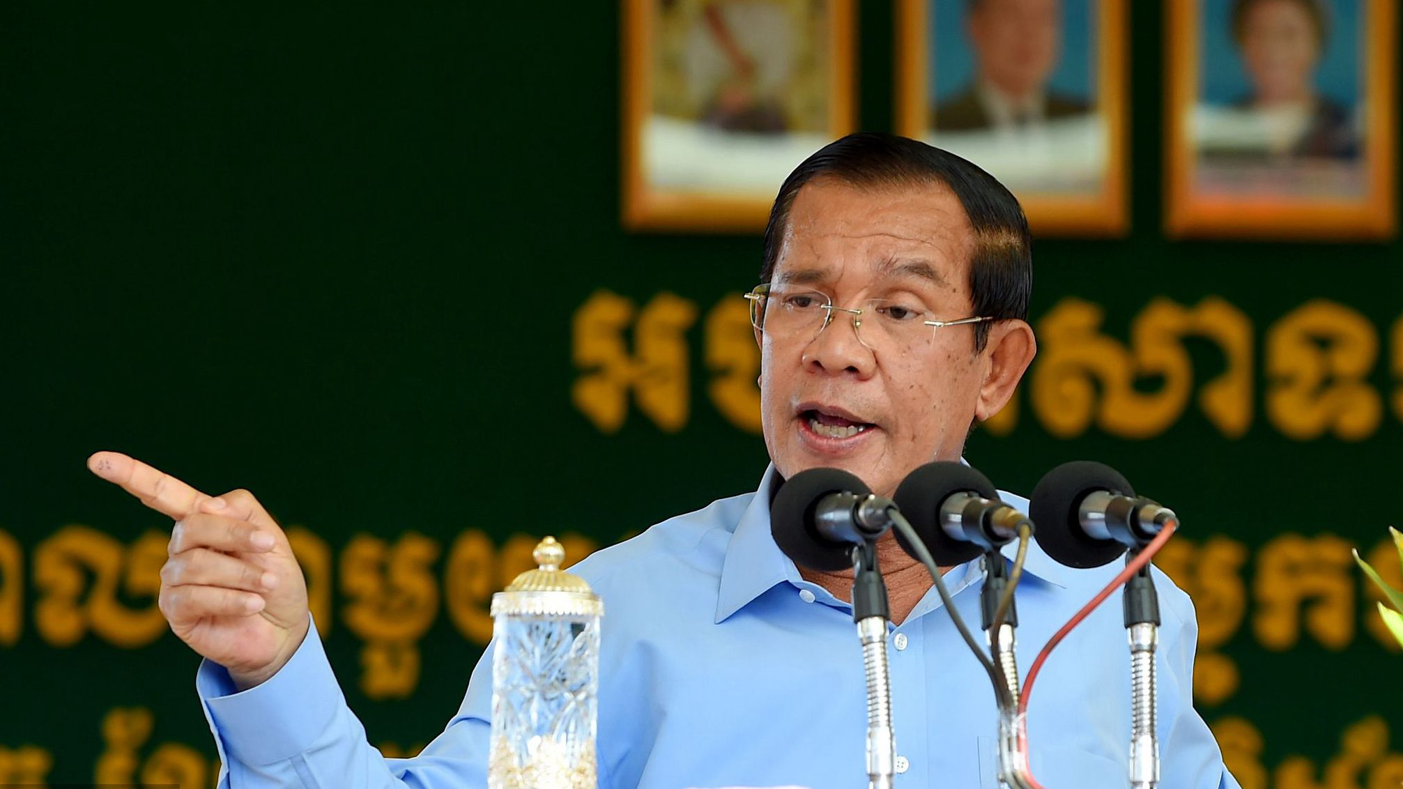 Cambodia's Hun Sen swears to die if vote numbers inflated