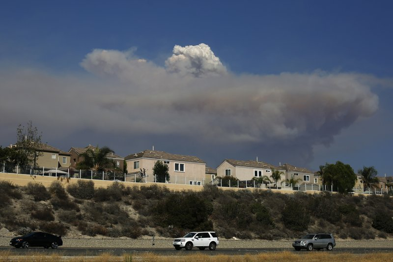 Twin California fires largest in US' history