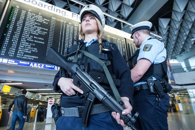 Security alert forces evacuation at Frankfurt airport