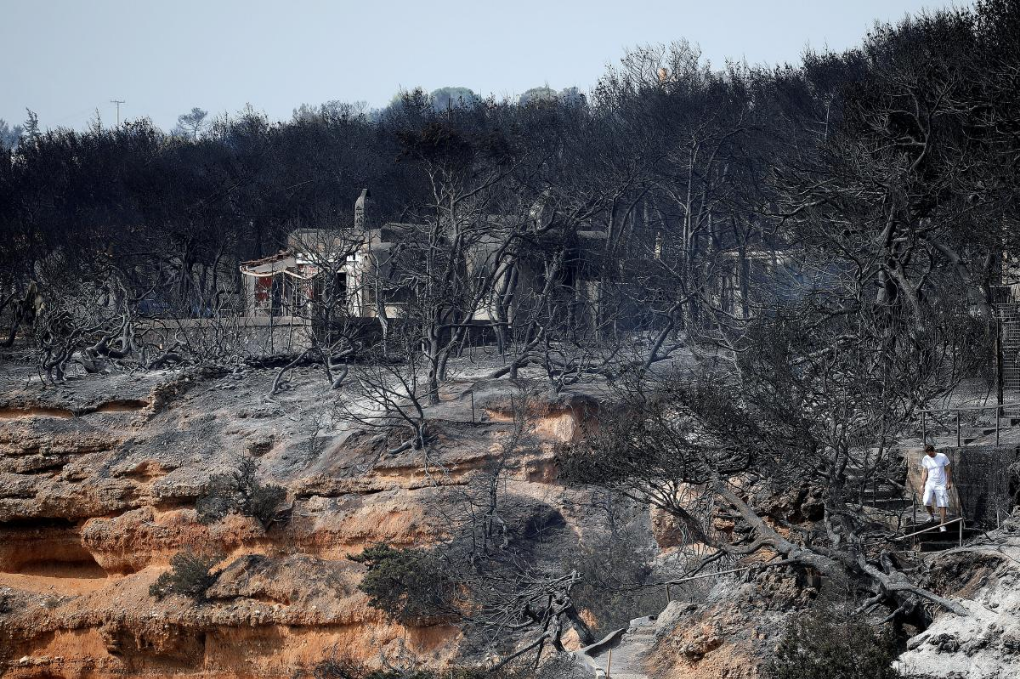 Greek PM announces demolitions of 3,200 illegal buildings after deadly wildfire
