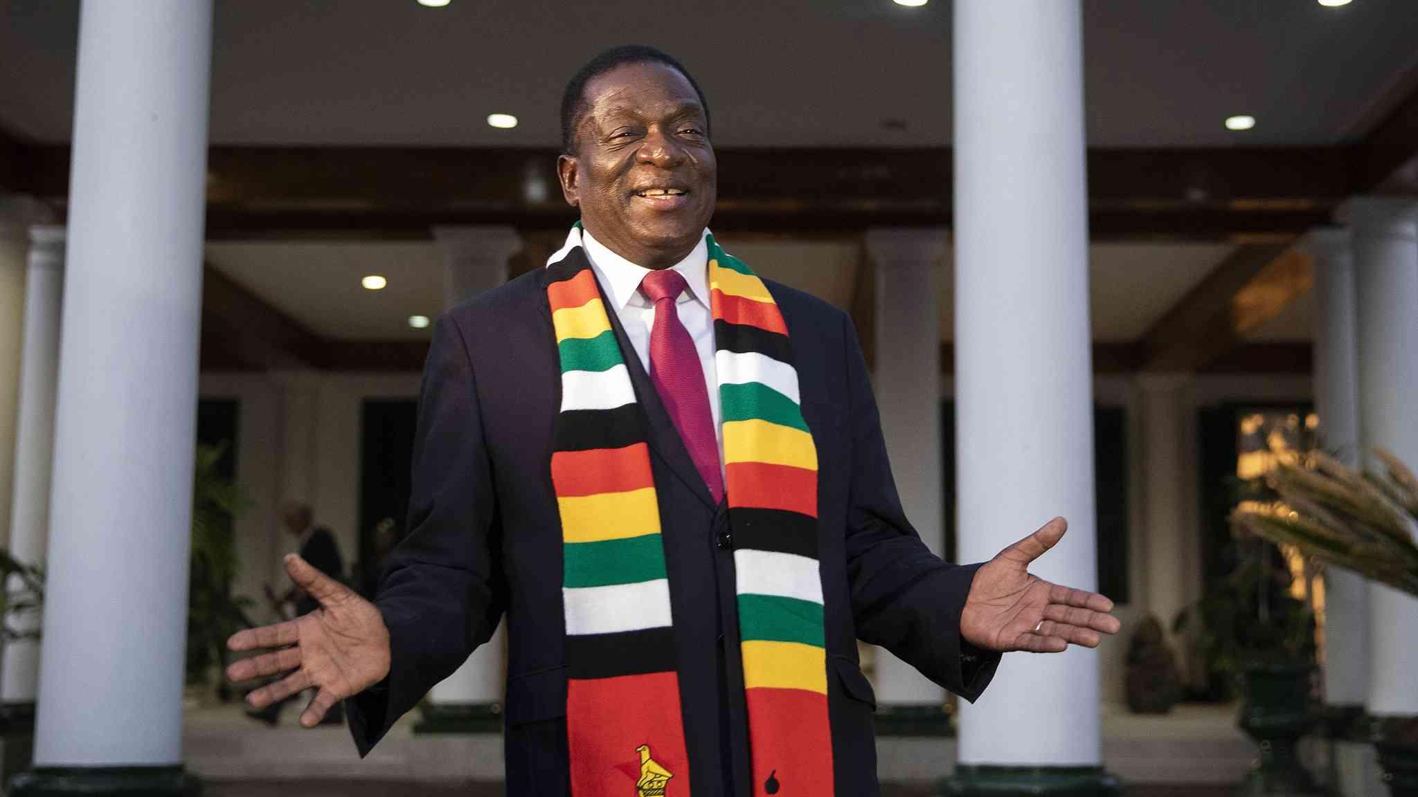 Xi Jinping congratulates Zimbabwean president-elect