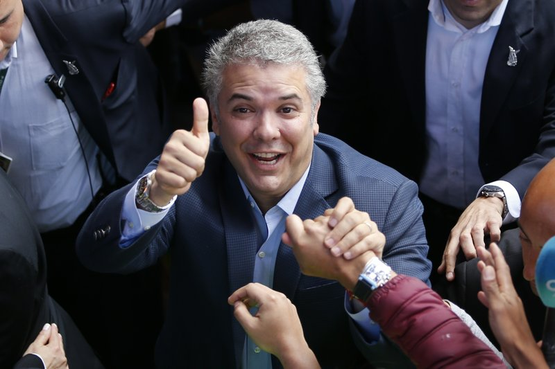 Incoming Colombia president faces long list of challenges