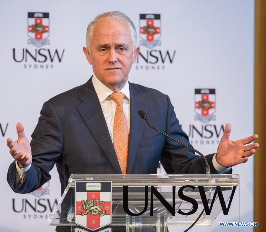 Australian PM hails bilateral cooperation with China