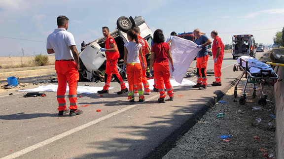 16 foreign farm laborers die in two crashes in Italy