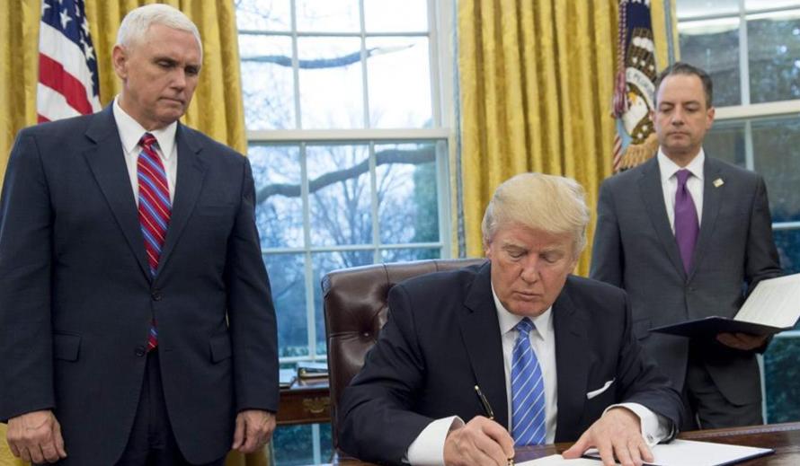 Washington or Tehran? Trump urges countries to take sides
