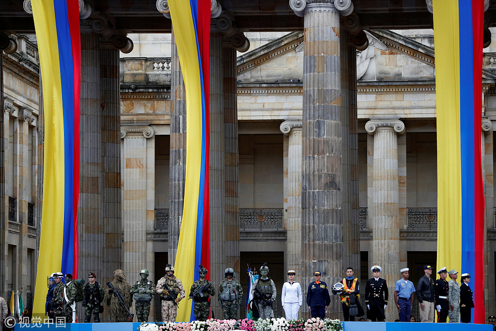 New Colombian president promises 'corrections' to peace deal
