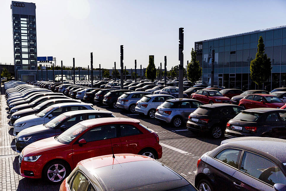 Export of used diesel vehicles from Germany rises substantially