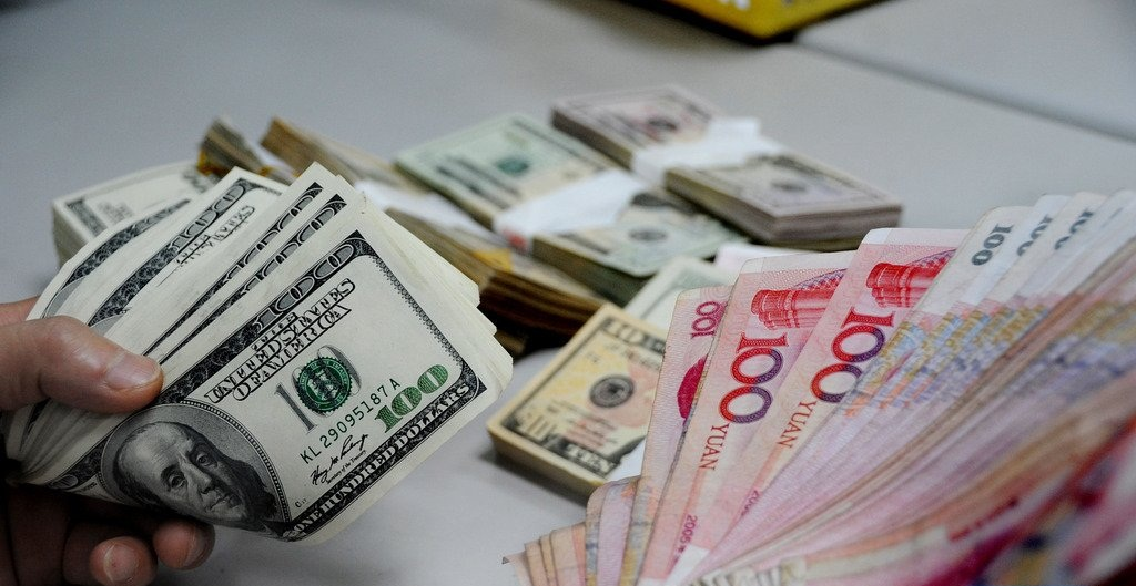 China's forex reserves rise in July