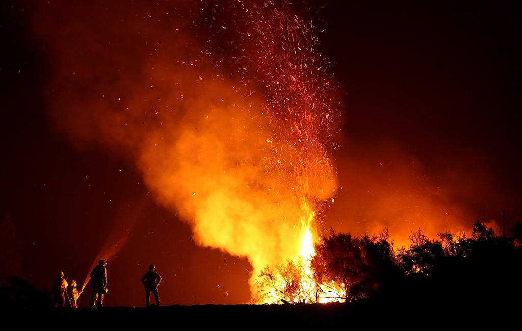 Battling 18 blazes, California may face worst fire season