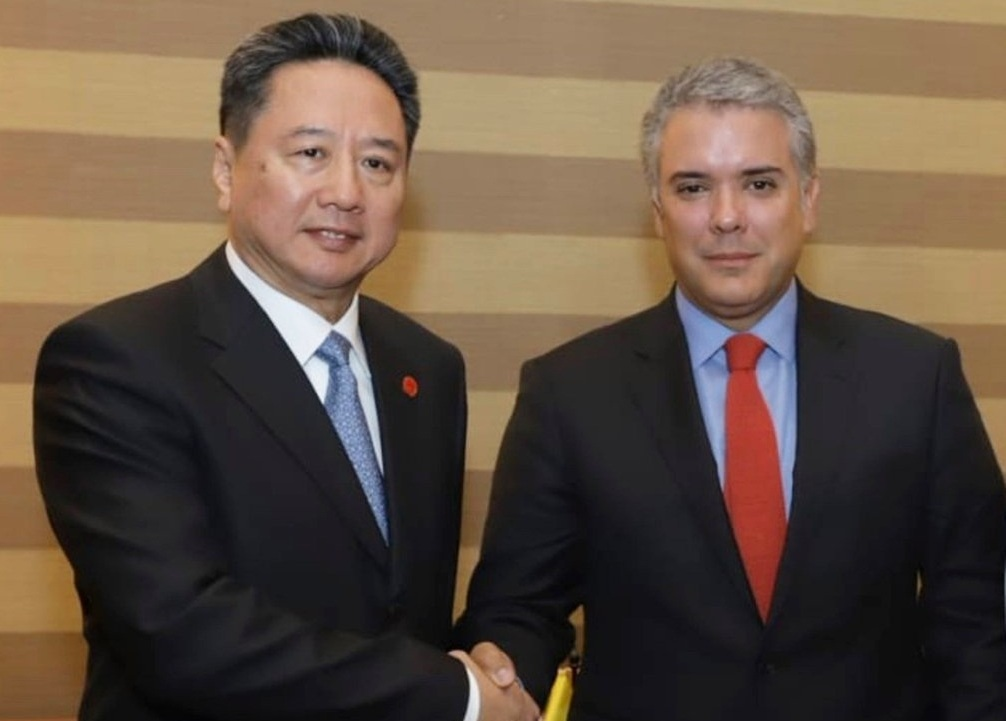 Xi's special envoy attends Colombian presidential inauguration