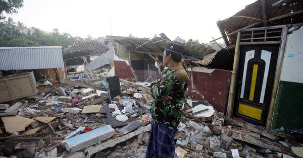 6.2-magnitude quake jolts Lombok