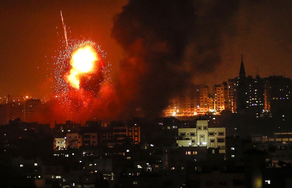 Israel strikes 12 sites across Gaza amid recent escalation