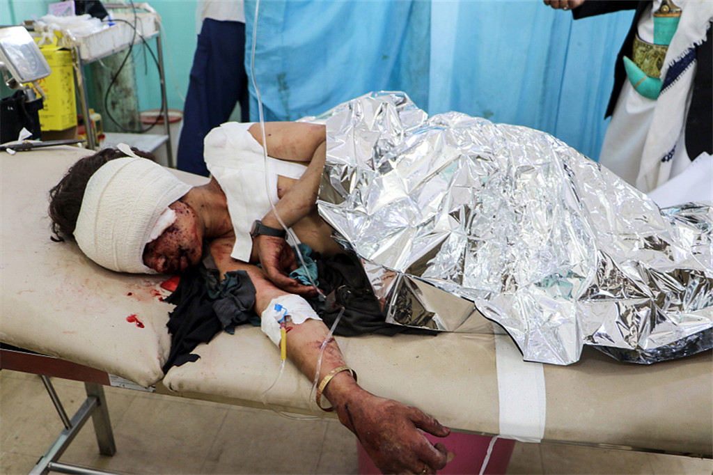 At least 43 killed in Saudi-led airstrikes on north Yemen, mostly children