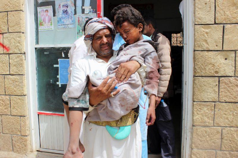 At least 29 children killed in strike on Yemen bus