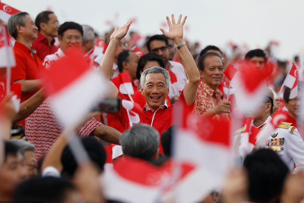 Singapore holds parade to celebrate National Day