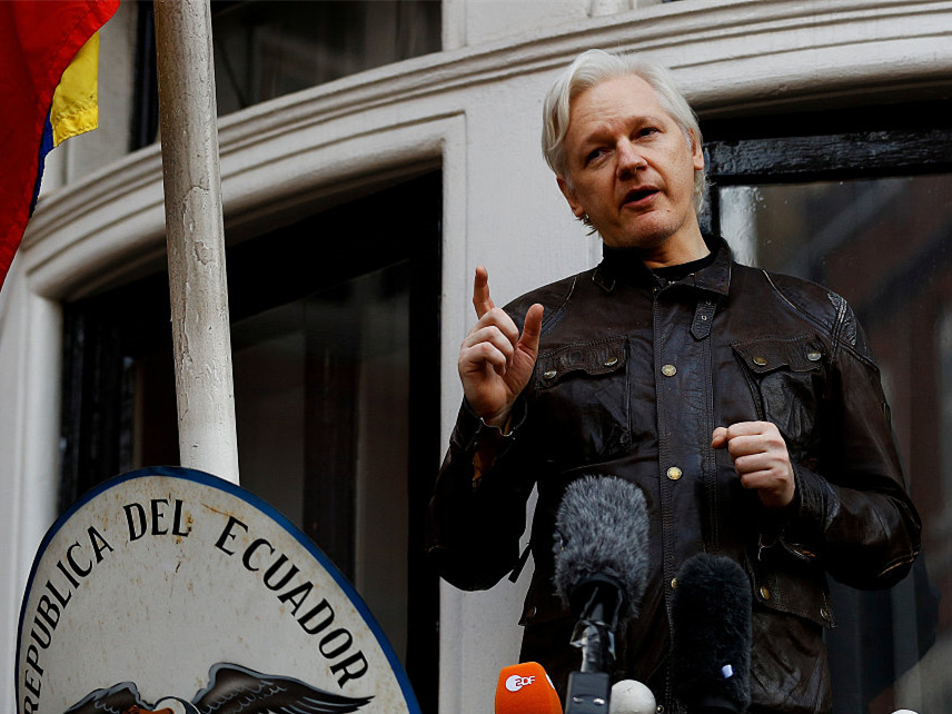 WikiLeaks says Senate panel seeks interview with Assange