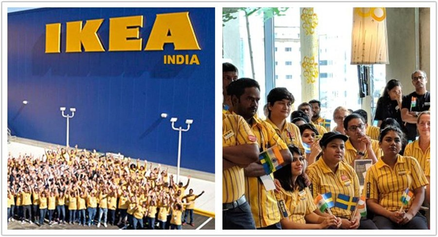 Furniture giant IKEA opens its first store in India