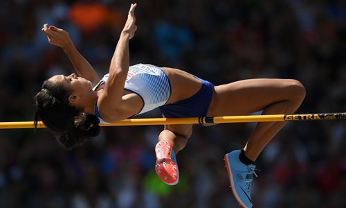 Briton leads in Euro heptathlon