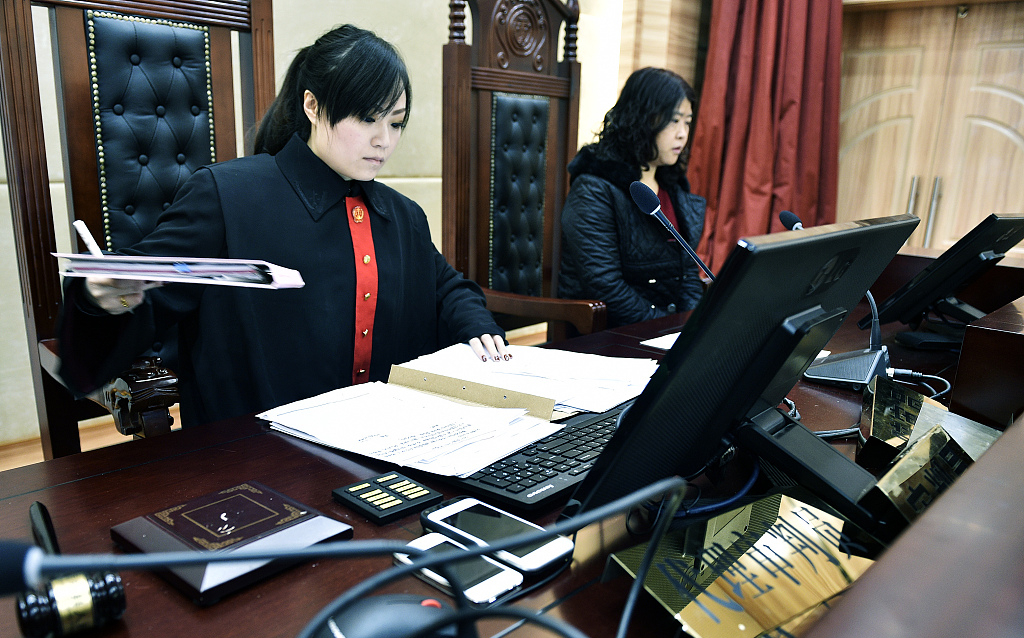 Over 1.27 mln court trials live-broadcast in transparency move: report