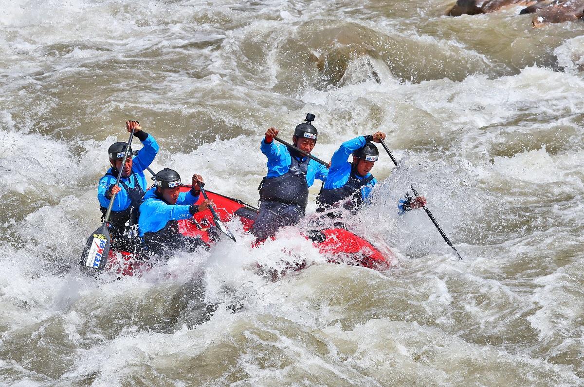 Rafting Plateau World Championships kicks off in Yushu