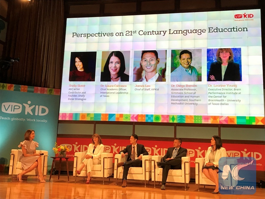 Feature: Online education builds up personal connections between China, U.S.