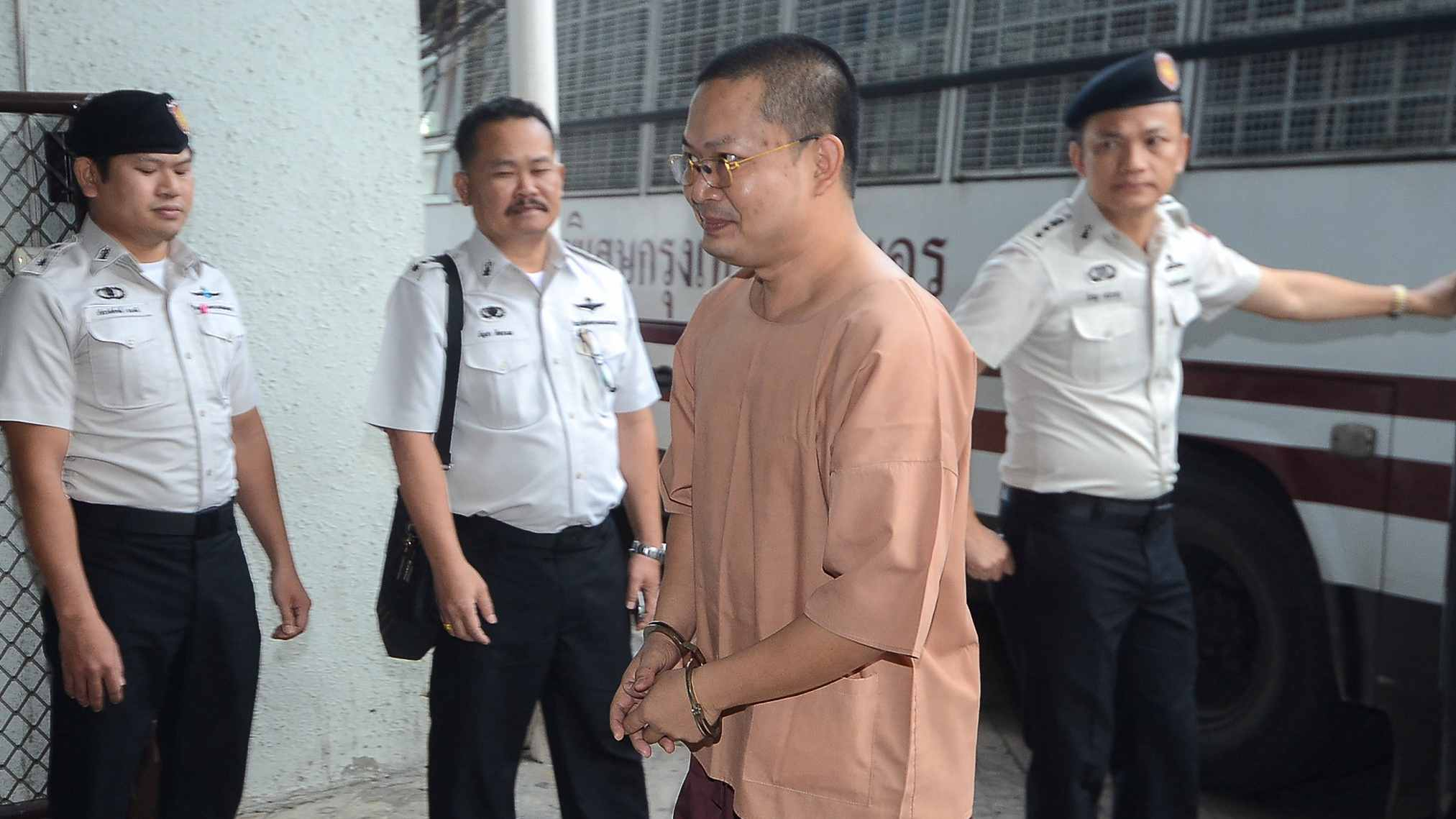 Luxury-loving Thai monk sentenced to 114 years for fraud