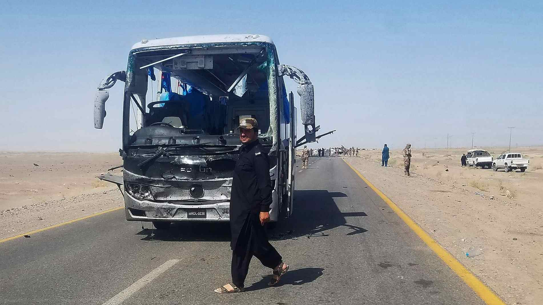 Three Chinese injured in bus attack in Pakistan