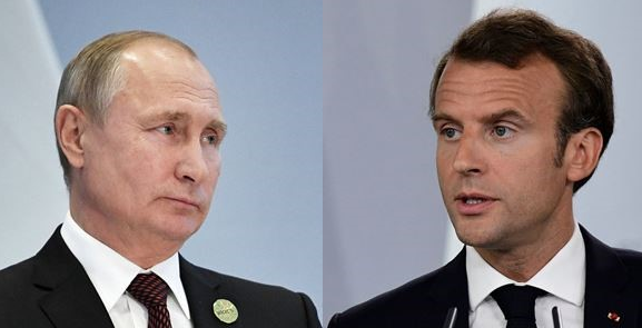 Putin, Macron discuss Syria issues by phone
